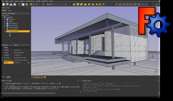 FreeCAD 3D modeling app