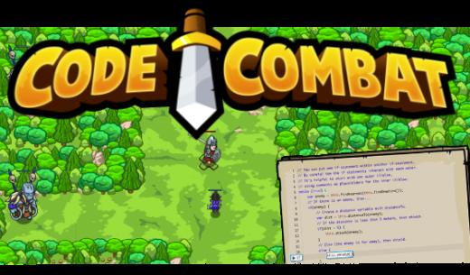 CodeCombat game