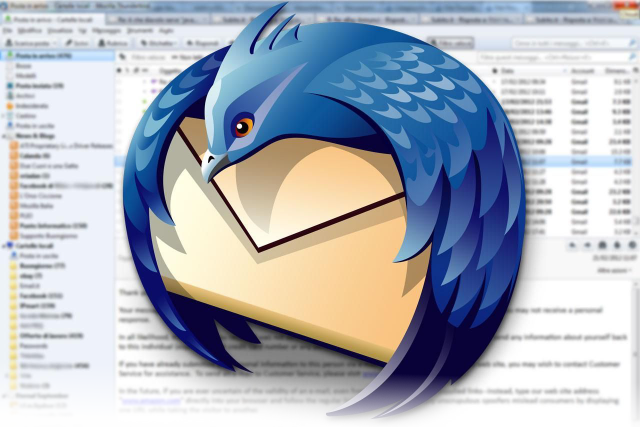 Thunderbird mail