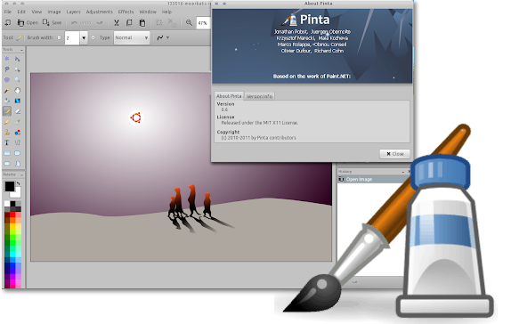 This week's open source application is Pinta